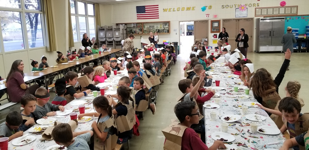 "South Fork Elementary Celebrates ""Friendsgiving"""